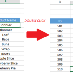 Jump To the Last Row Or Column In Your Data With A Double Click Of Your Mouse