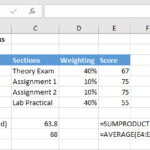 Formula Friday – Full Marks! Calculating Weighted Exam Percentages…For The Final Grade.