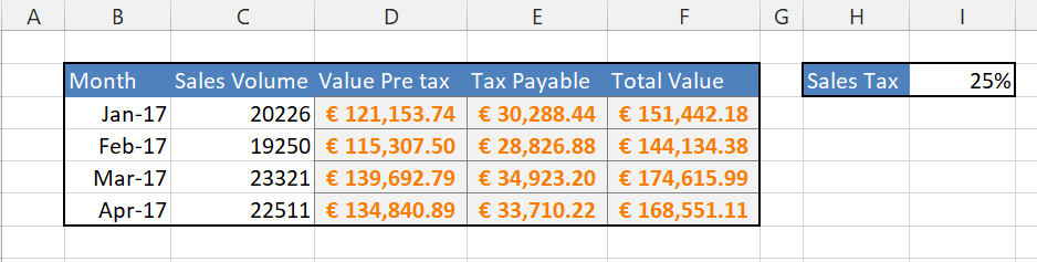 calculate only some of your excel formulas