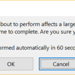 How To Control When Excel Warns You About Large Scale Cell Changes. Excel Tip