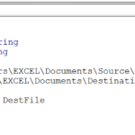 Copy A File With VBA
